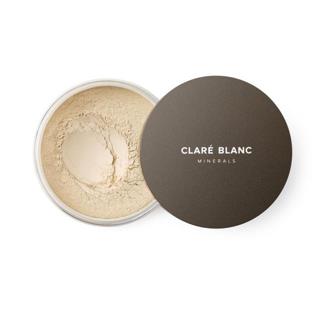 Clare Blanc podkład mineralny SPF 15 14g BUFF 420 ZGASZONY BEŻ bardzo jasny