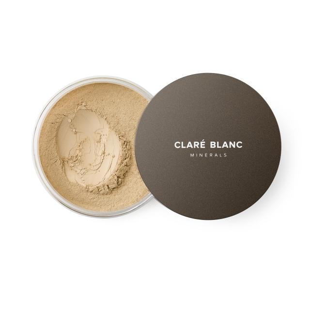 Clare Blanc podkład mineralny SPF 15 14g BUFF 445 ZGASZONY BEŻ średni