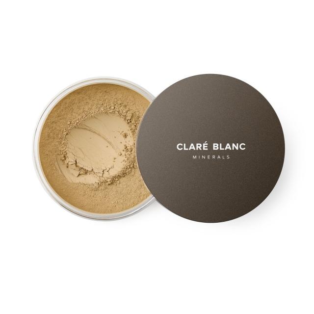 Clare Blanc podkład mineralny SPF 15 14g BUFF 465 ZGASZONY BEŻ ciemny