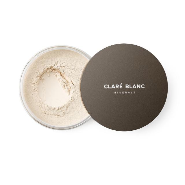 Clare Blanc podkład mineralny SPF 15 14g WARM 510 CIEPŁY blady