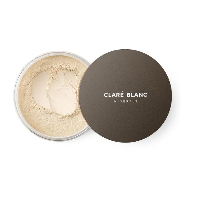 Clare Blanc podkład mineralny SPF 15 14g WARM 520 CIEPŁY bardzo jasny