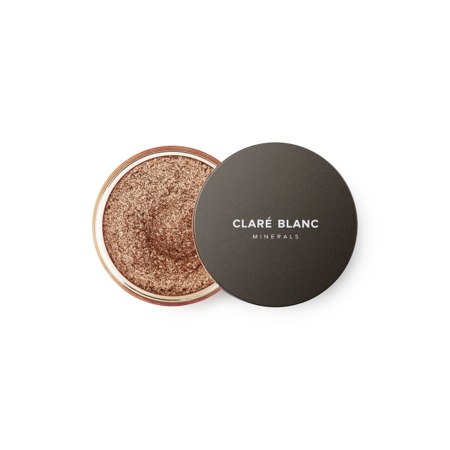 Clare Blanc rozświetlający puder MAGIC DUST -  WARM GOLD 01 (3g)