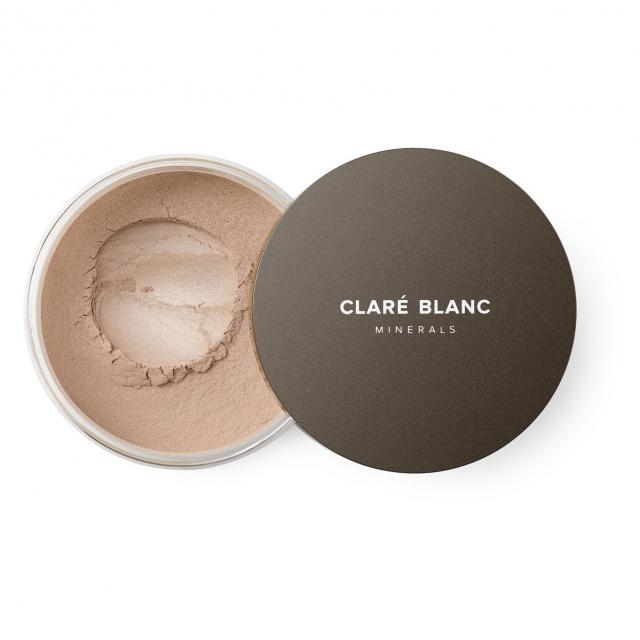 Clare Blanc rozświetlający puder mineralny - CASHMERE 21 (12g)
