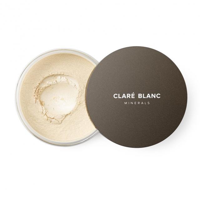 Clare Blanc rozświetlający puder mineralny BE MINE 22 (12g)
