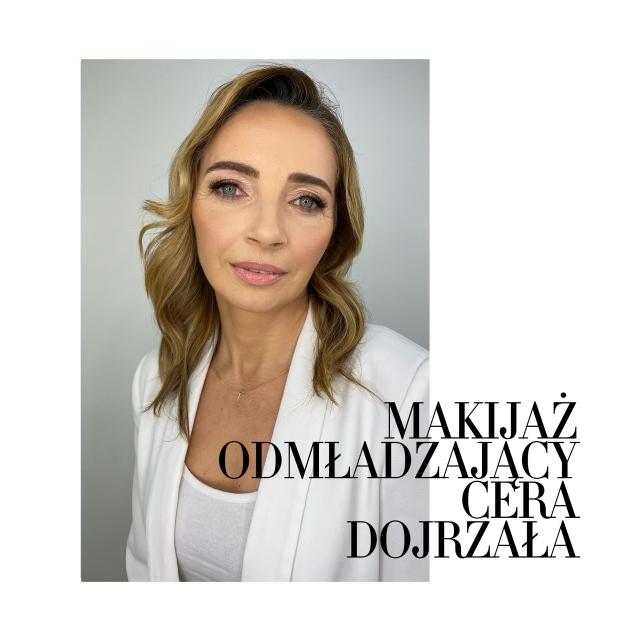 Kurs makijażu online Magdalena Sak - makijaż odmładzający dla cery dojrzałej