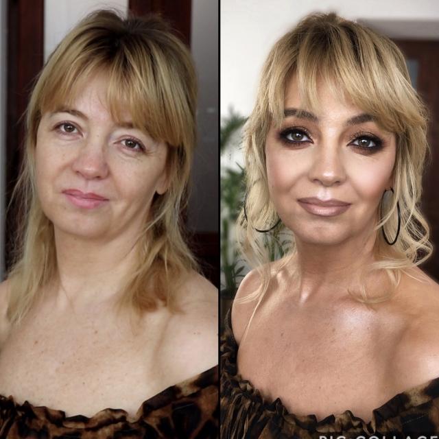 Kurs makijażu online Aleksandra Kołodziejczyk - Smokey Eyes dla kobiety dojrzałej