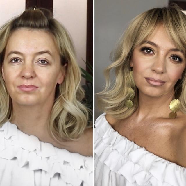 Kurs makijażu online Aleksandra Kołodziejczyk - odmładzający makijaż kobiety dojrzałej