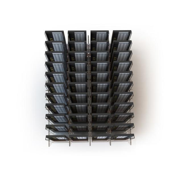 Lash Organizer by LUXURY - 44 przegródki (idealny do IKEA ALEX 9 szuflad)