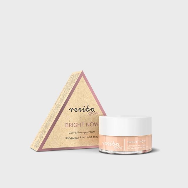 RESIBO - GLOW Bright Now Korygujący krem pod oczy 15ml