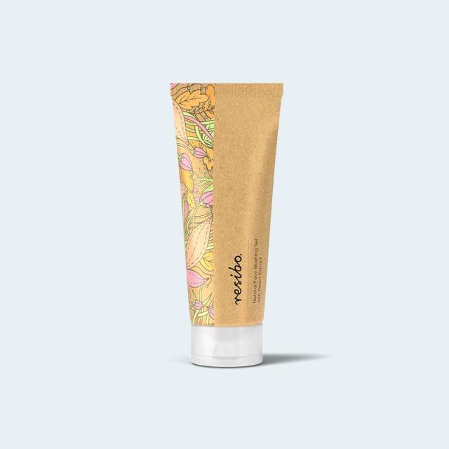 RESIBO - Naturalny żel myjący do twarzy z ekstraktem z brzoskwini 125ml